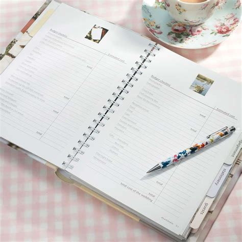 Wedding Planner Notebook by Wedding Planning 101 12 Months Of Tasks Until Your Big