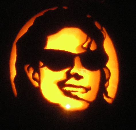 pumpkin carvings patterns michael jackson pumpkin stencil