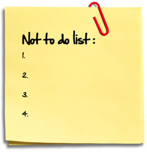 what not to do 13 things marketers should not do the marketing sage