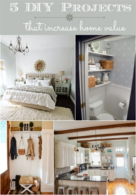 home projects 5 diy projects that increase home value home stories a to z