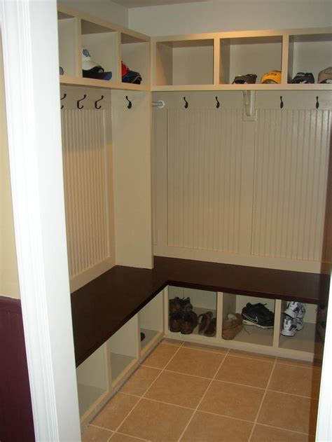corner mudroom bench mud room organization pics house and home living room