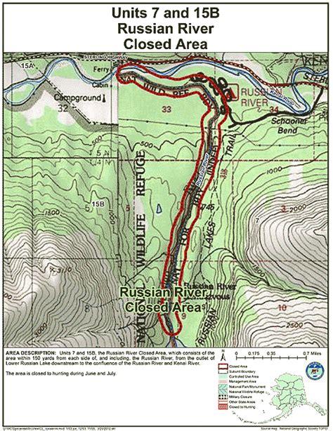 russia river map quiz restrictions in alaska s management units