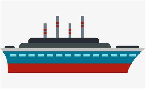 cartoon boat color cartoon vector boat delayering ship ship png and vector