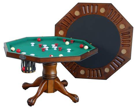 berner billiards 3 in 1 table octagon 48 w bumper pool