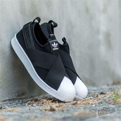 Adidas Superstar Slip On Size 36 47 adidas superstar slip on w black ftw white footshop