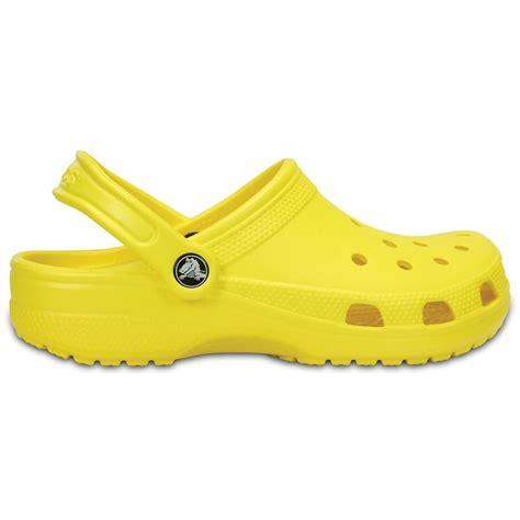 Crocs Slip On Original crocs classic shoe lemon original slip on shoe