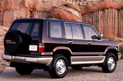1992 02 isuzu trooper consumer guide auto