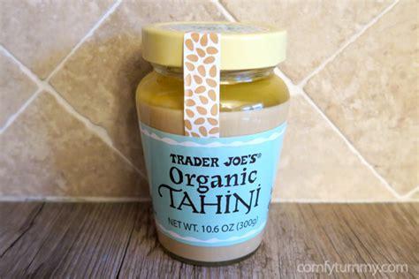 Tahini Shelf by Trader Joe S Organic Tahini Comfy Tummy