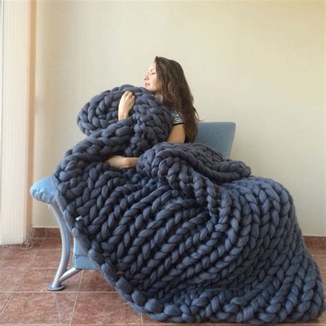 best 25 large knit blanket ideas on pinterest chunky