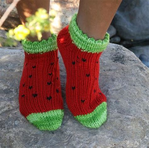 free pattern loom knit and weights on pinterest watermelon socks projects to try pinterest knitting