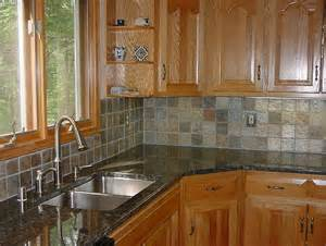 Kitchen Backsplash Tile Ideas Backsplash Tile Ideas Oak Cabinets Home Design Ideas