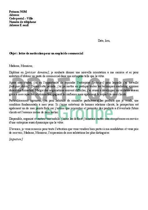 Conseil Lettre De Motivation Commercial Lettre De Motivation Animatrice Hotesse Ccmr