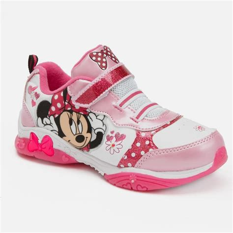 light up minnie mouse minnie mouse light up athletic shoes toddler for