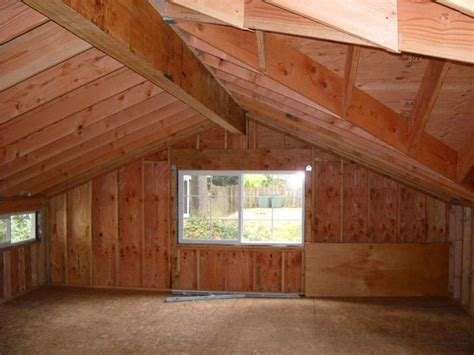 laminated ridge beam  garage loft projects garage