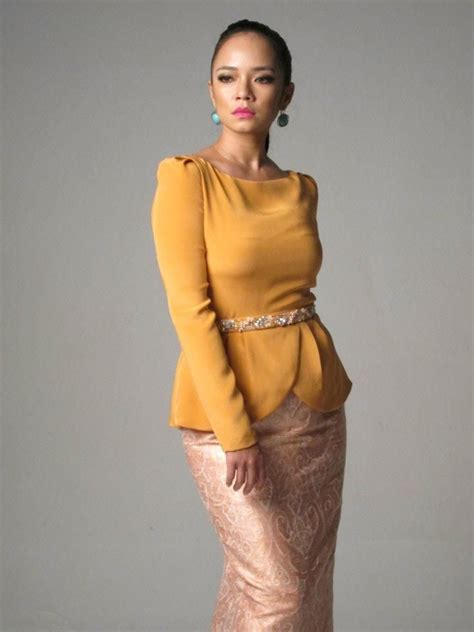 Dress Baju Tenun Elegan Limited innai 2012 raya kurung kebaya dresses by malaysian kebaya baju