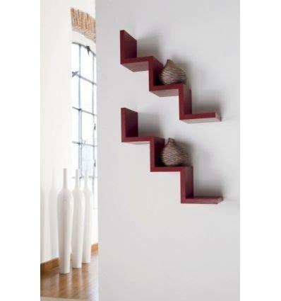 parete mensole mensola laddy da parete a forma di scala gradino in legno