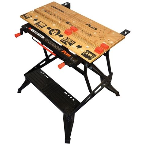 black and decker tool bench black decker wm825 dual height deluxe workmate workbench
