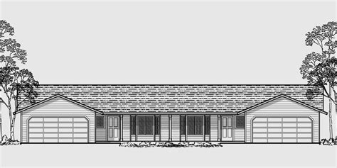 duplex plans with garage in middle 100 duplex house plans with garage in the middle