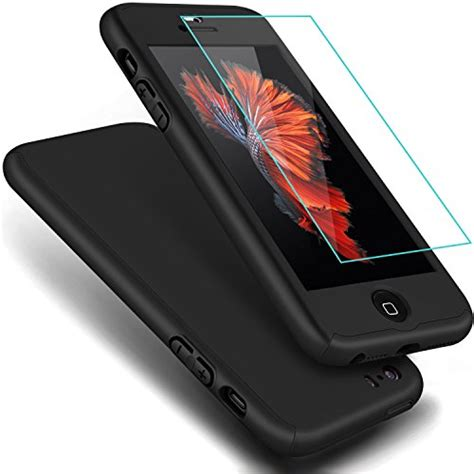 Tryit Hybrid Slim Fit For Iphone 55s Black iphone se coolqo coverage ultra thin