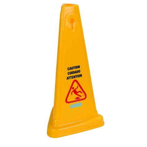 carlisle 27 in and caution cone of
