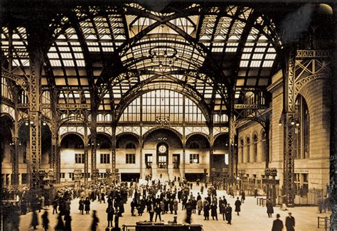 rebuild penn station  visionary  plan traditional