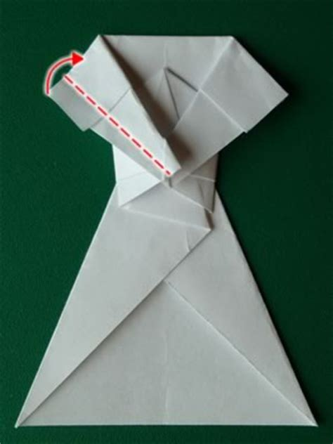 Money Origami Dress - money origami dress folding with photos