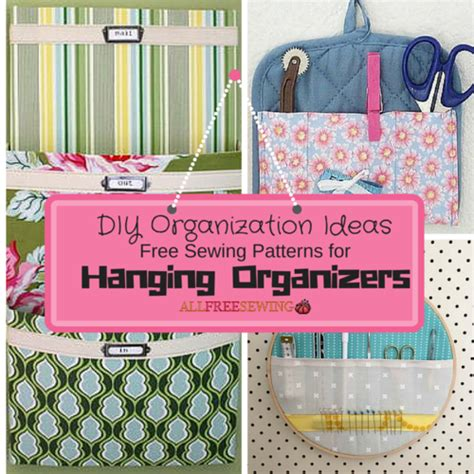 sewing pattern organization ideas 21 diy organization ideas and free sewing patterns for