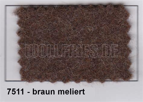 wollfries vorhang friesvorhang 7511 braun meliert 214 k
