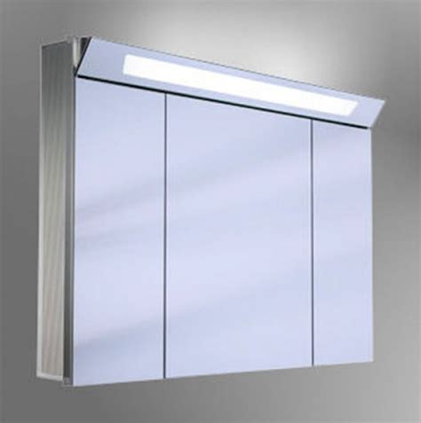 illuminated bathroom mirror cabinets uk schneider capeline 3 door illuminated mirror cabinet