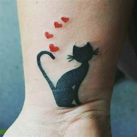 cat tattoos on wrist 48 best kadın bilek d 246 vmeleri wrist tattoos images