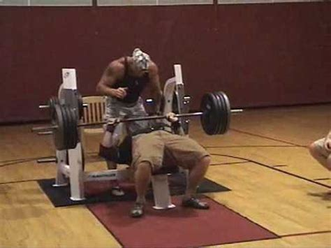 olympic record bench press highlights of 2009 local bench press ymca contest youtube