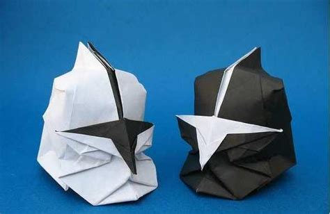How To Make A Origami Helmet - origami trooper helmet image 767105 on favim
