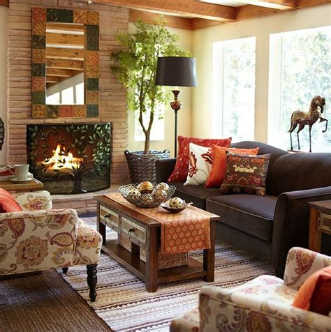 decorating with fall colors 29 cozy and inviting fall living room d 233 cor ideas digsdigs