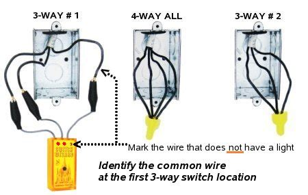 how to hook up a 4 way switch diagram switch wizard 3 way wiring tester kanderson
