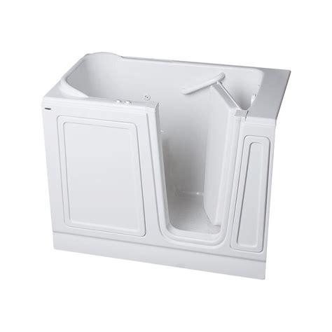american standard walk in bathtubs american standard acrylic standard series 48 in x 28 in