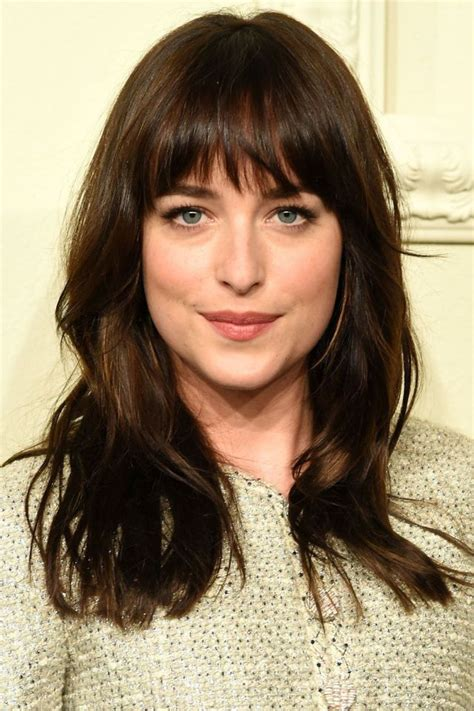 ladies choppy hairstyles with a fringe 25 best ideas about full fringe hairstyles on pinterest