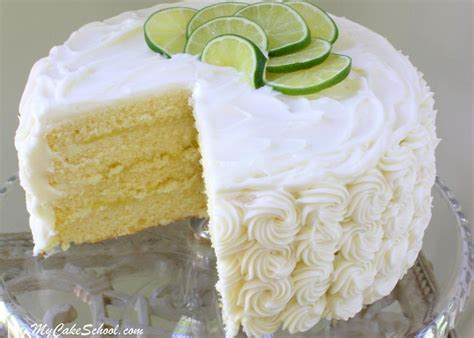lime cake from scratch my cake school