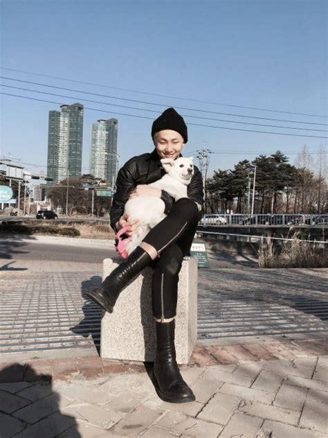 kim namjoon dog a r m y bts international