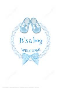 baby shower arrival card quot it s a boy quot free printable