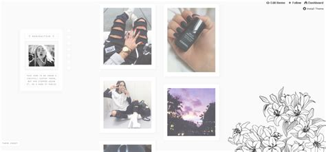 tumblr themes rosy all theme codes released on my blog