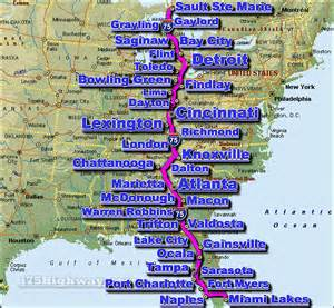 i 75 interstate 75 road maps traffic news
