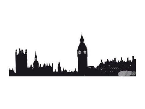 London Skyline Wall Sticker london skyline wall sticker silhouettes pinterest