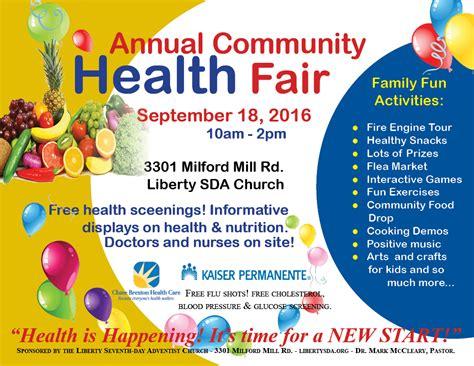 Health Fair Images Reverse Search Community Health Fair Flyer Template