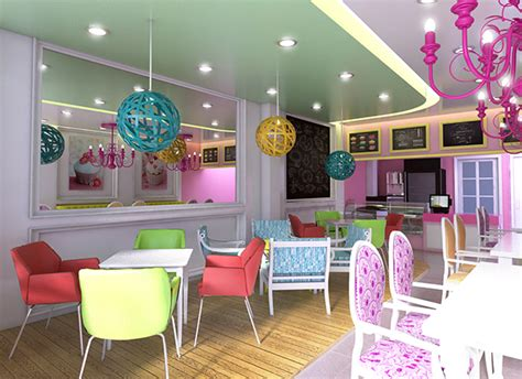 Cupcake Shop Interior Design by Cupcake Shop On Behance