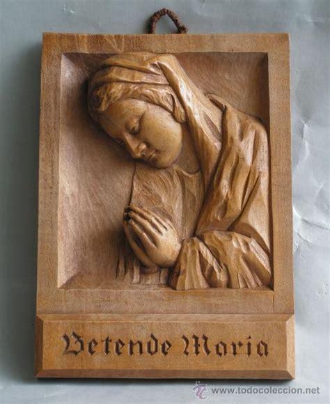 imagenes religiosas en madera virgen maria rezando madera tallada alemania comprar