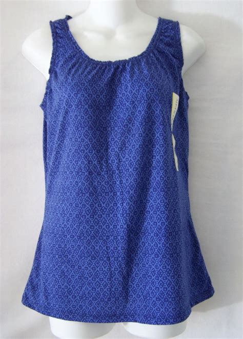 White Ruffle Sleeveless Top Size Sm merona ruffle tank sleeveless shirt top blouse blue womens size small s ruffles