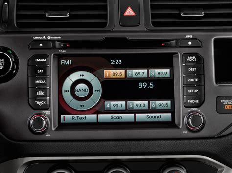 Kia Sound System Image 2013 Kia 5dr Hb Auto Sx Audio System Size