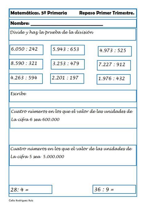preguntas basicas de geografia colombiana ejercicios de matem 225 ticas para quinto de primaria