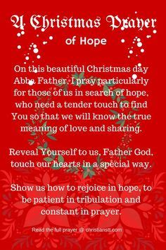 cloaing prayer for christmas progeamme a prayer prayer prayer prayers and