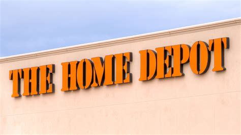 collection of home depot business credit card
